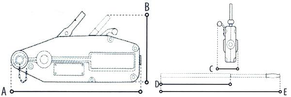 seilzug wie greifzug 1 6 t haken seil 20m seilwinde winde mehrzweckzug hebelzug ebay. Black Bedroom Furniture Sets. Home Design Ideas