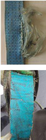 Textile Anschlagmittel Ablegereife