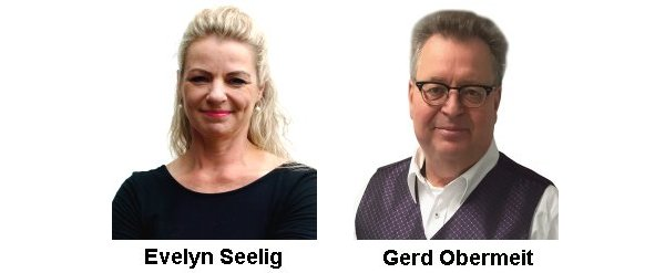 Evelyn Seelig, Gerd Obermeit, Janet Skowron